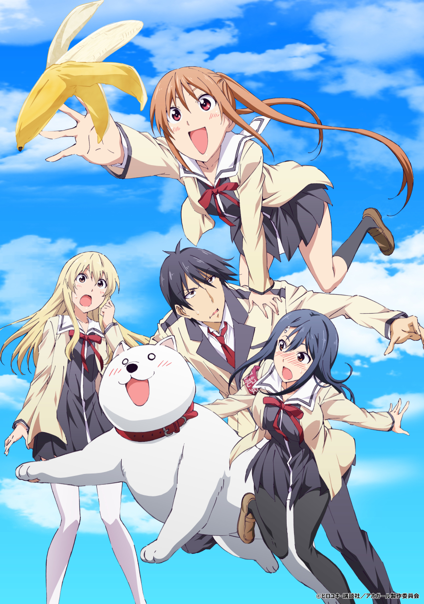 25 [Similar Anime] Like AHO-GIRL