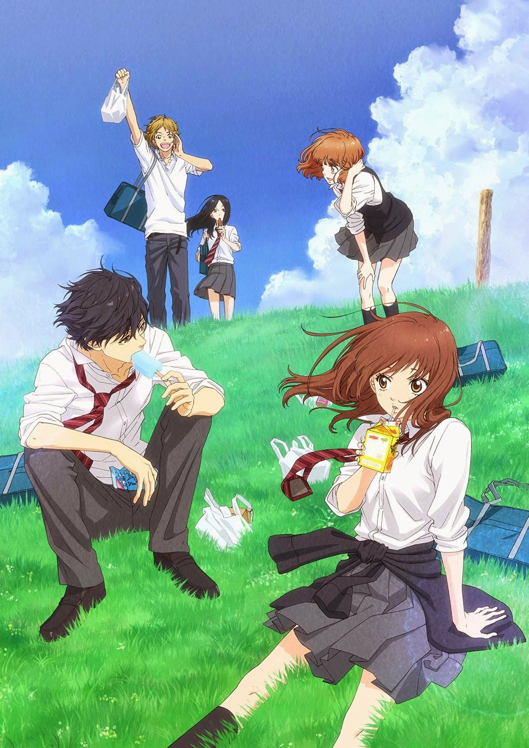 15 [Similar Anime] Like Blue Spring Ride