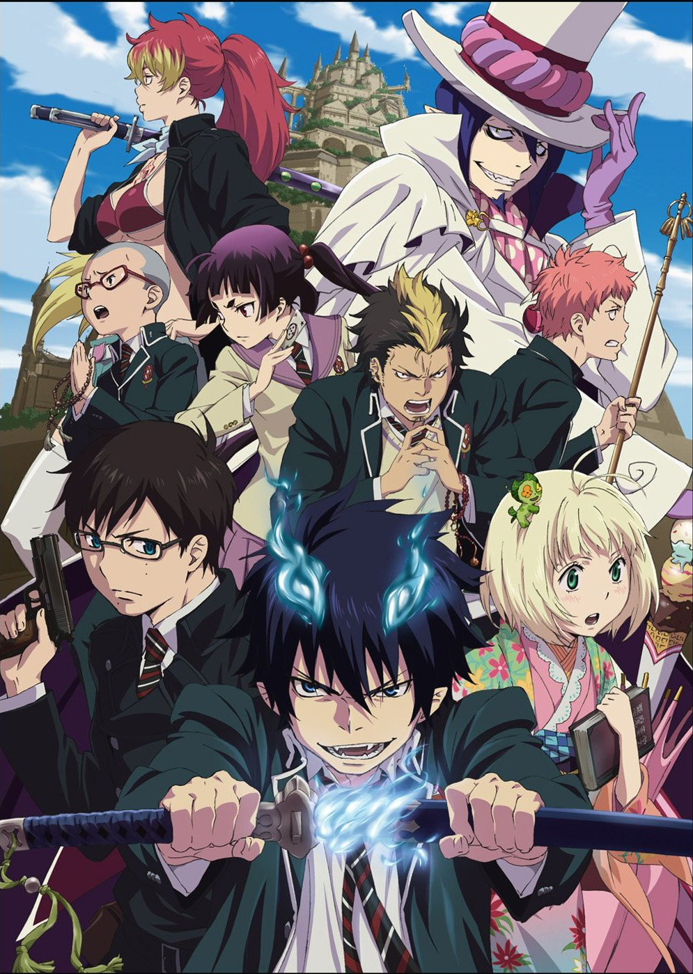 15 [Similar Anime] Like Blue Exorcist