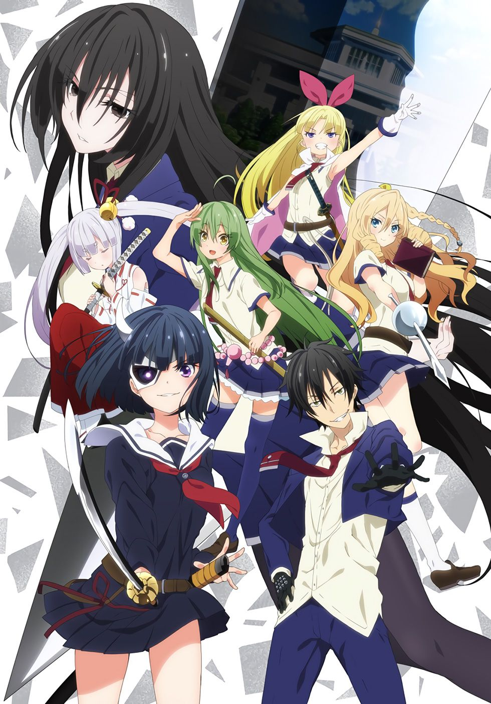 15 [Similar Anime] Like Armed Girl's Machiavellism
