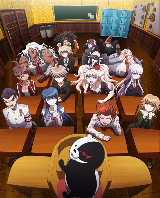 15 [Similar Anime] Like Danganronpa: The Animation