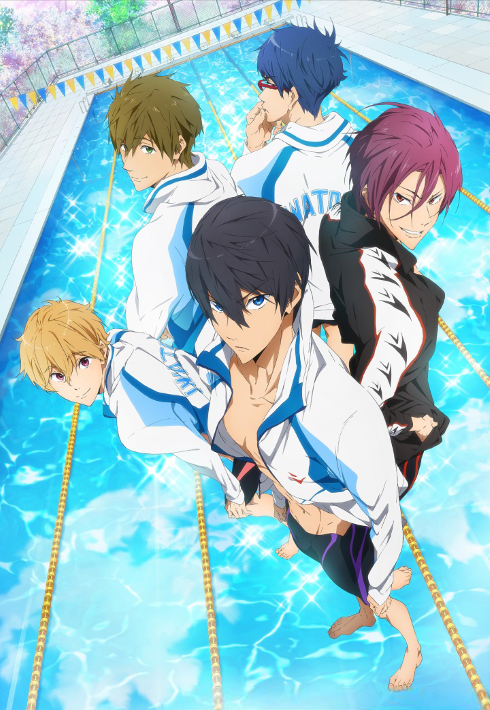 15 [Similar Anime] Like Free! – Iwatobi Swim Club