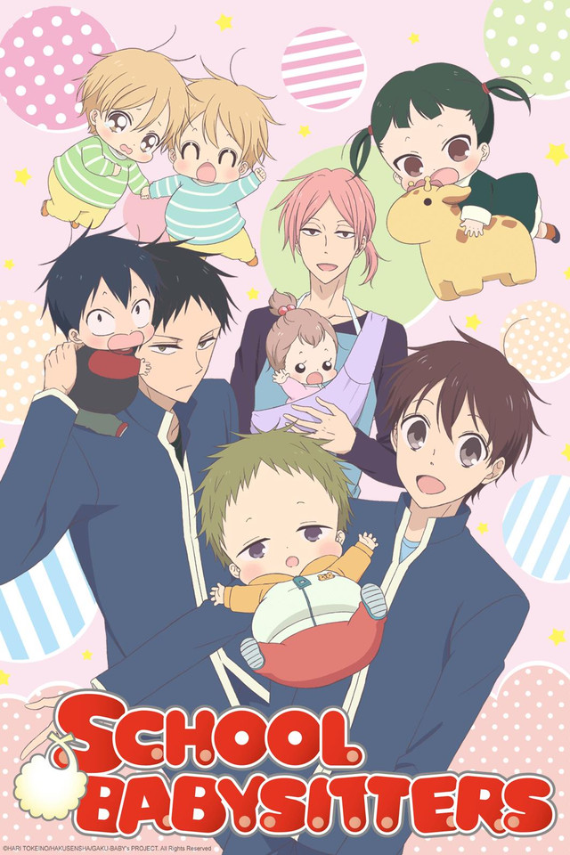25 [Similar Anime] Like School Babysitters