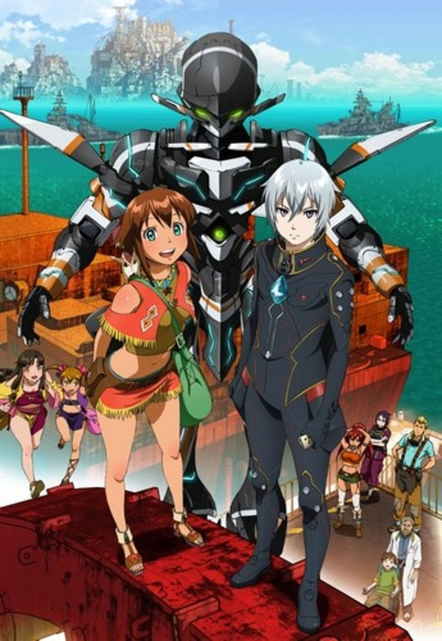15 [Similar Anime] Like Gargantia on the Verdurous Planet