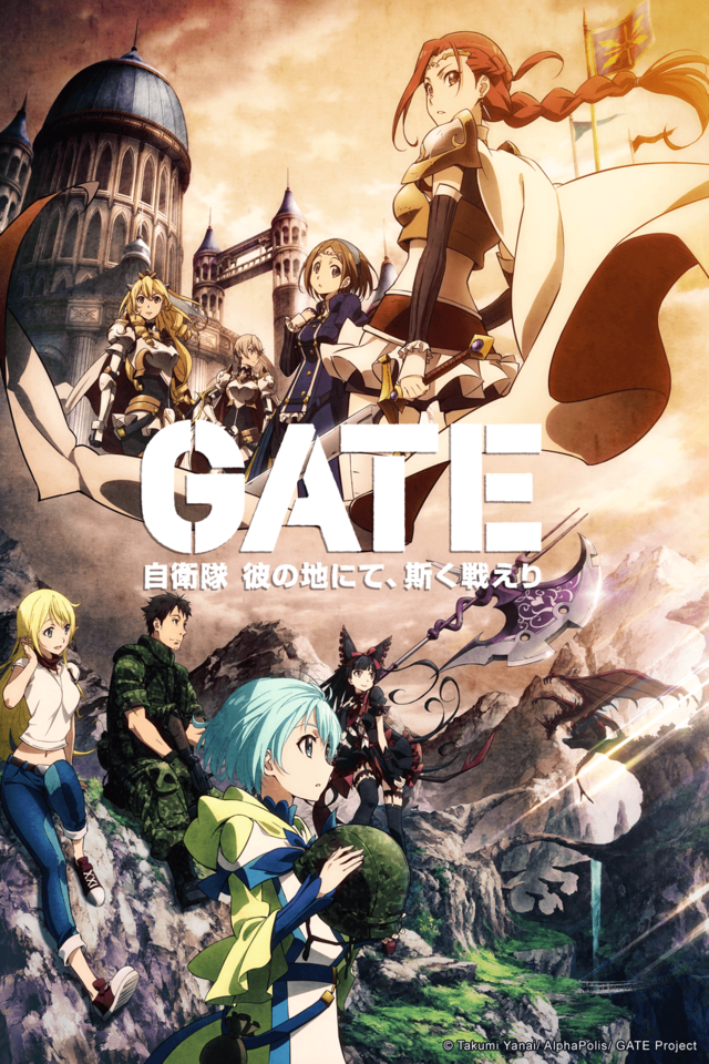 15 [Similar Anime] Like GATE