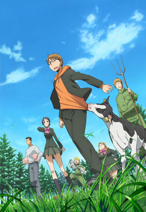 15 [Similar Anime] Like Silver Spoon
