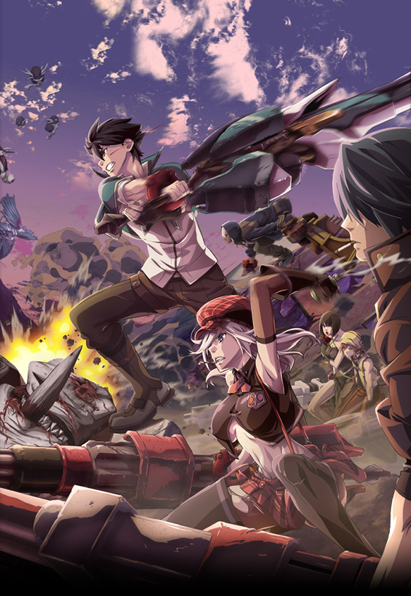 15 [Similar Anime] Like God Eater