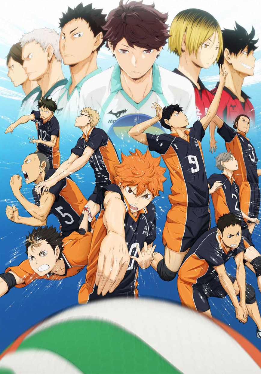15 [Similar Anime] Like Haikyu!!
