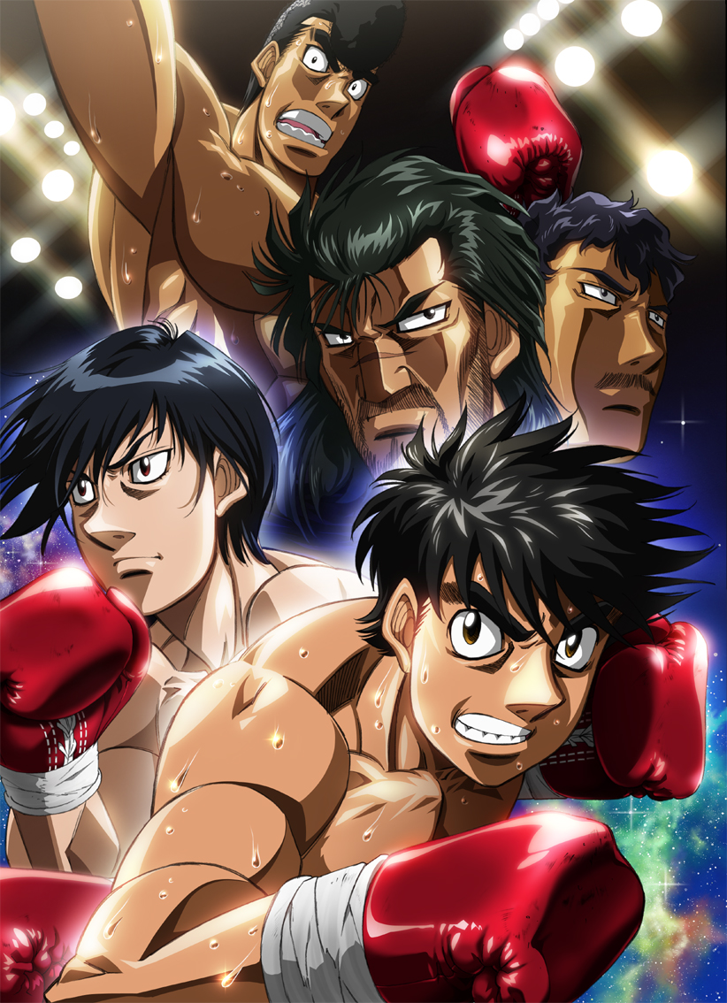 8 [Similar Anime] Like Fighting Spirit: New Challenger