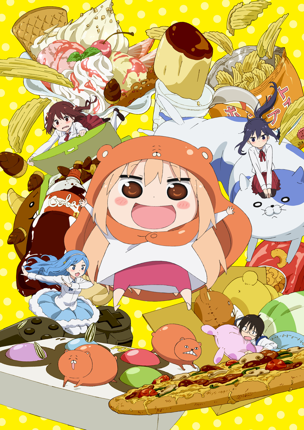 15 [Similar Anime] Like Himouto! Umaru-chan