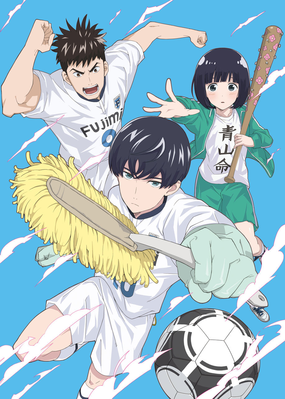 7 [Similar Anime] Like Clean Freak! Aoyama-kun