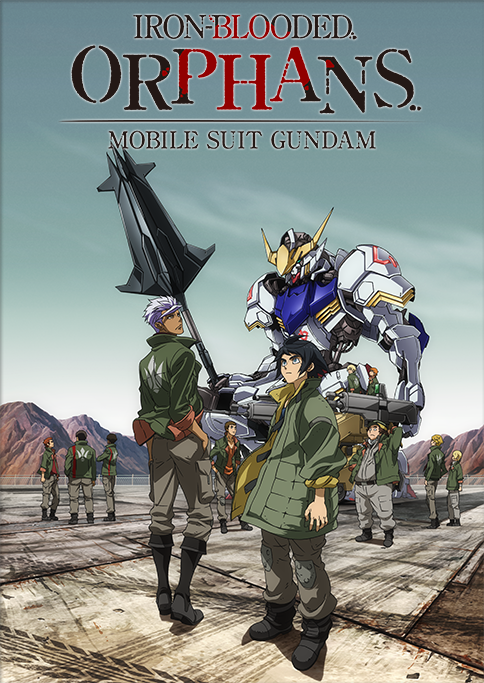 15 [Similar Anime] Like Mobile Suit Gundam: Iron-Blooded Orphans