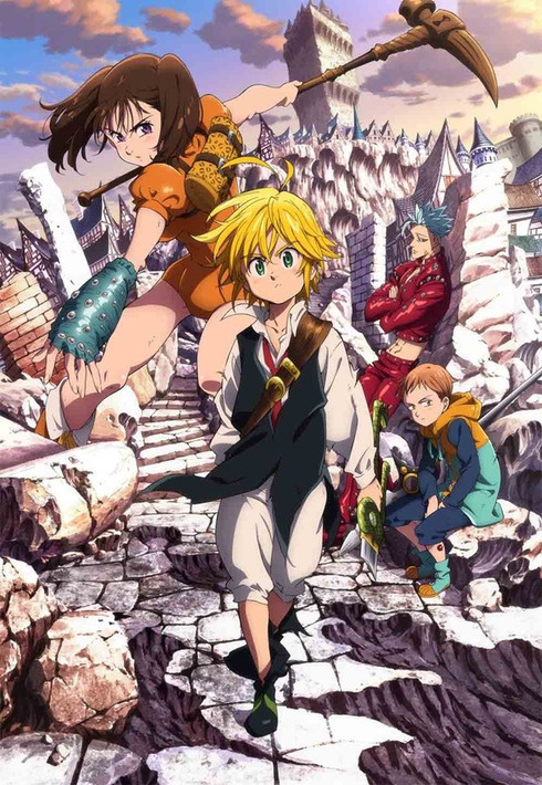 15 [Similar Anime] Like The Seven Deadly Sins