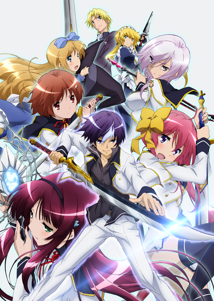 15 [Similar Anime] Like World Break: Aria of Curse for a Holy Swordsman