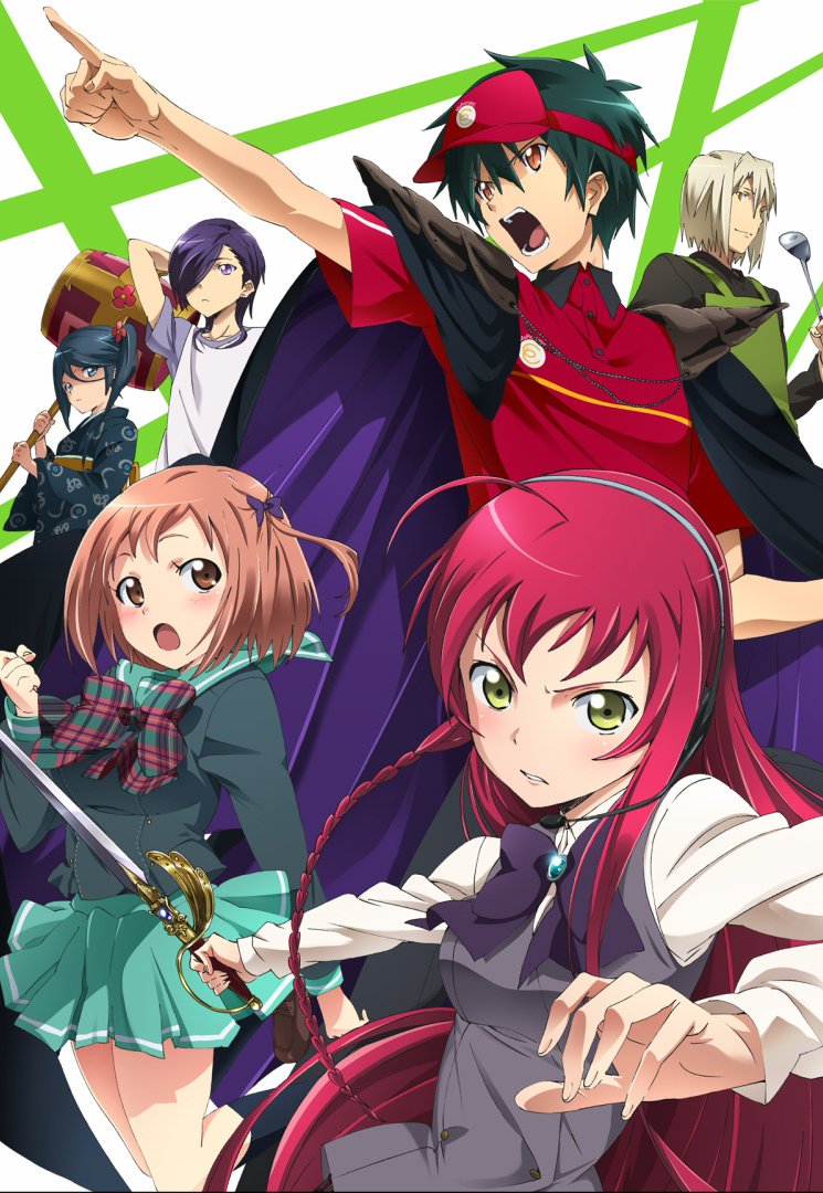 15 [Similar Anime] Like The Devil is a Part-Timer!