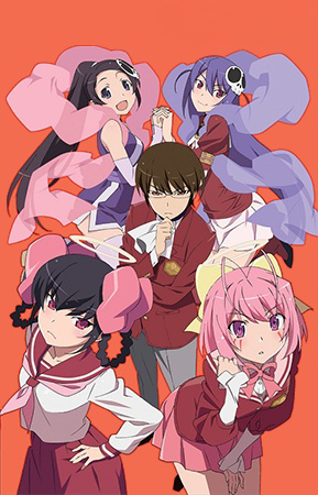 8 [Similar Anime] Like The World God Only Knows: Goddesses