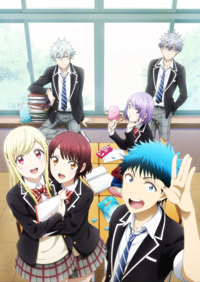 15 [Similar Anime] Like Yamada-kun and the Seven Witches