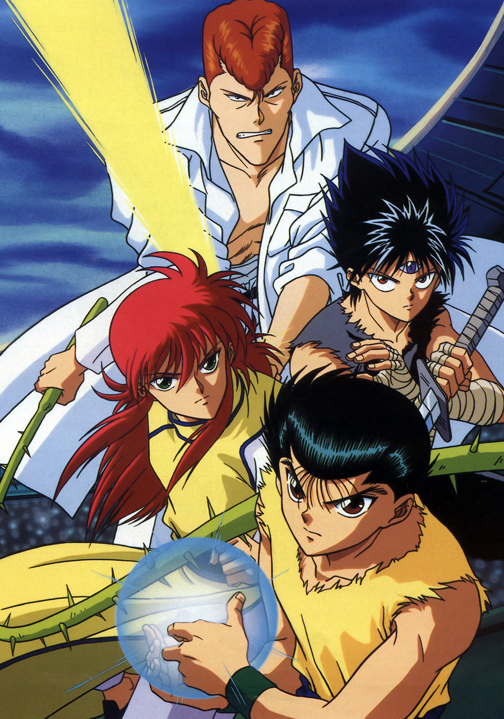 15 [Similar Anime] Like Yu Yu Hakusho: Ghost Files