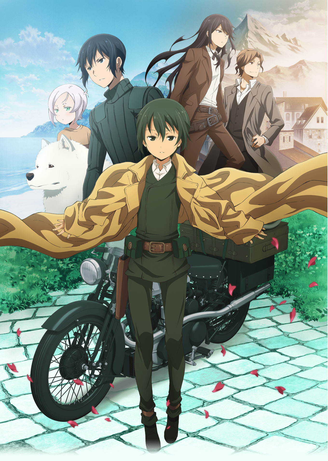 17 [Similar Anime] Like Kino's Journey -the Beautiful World- the Animated Series