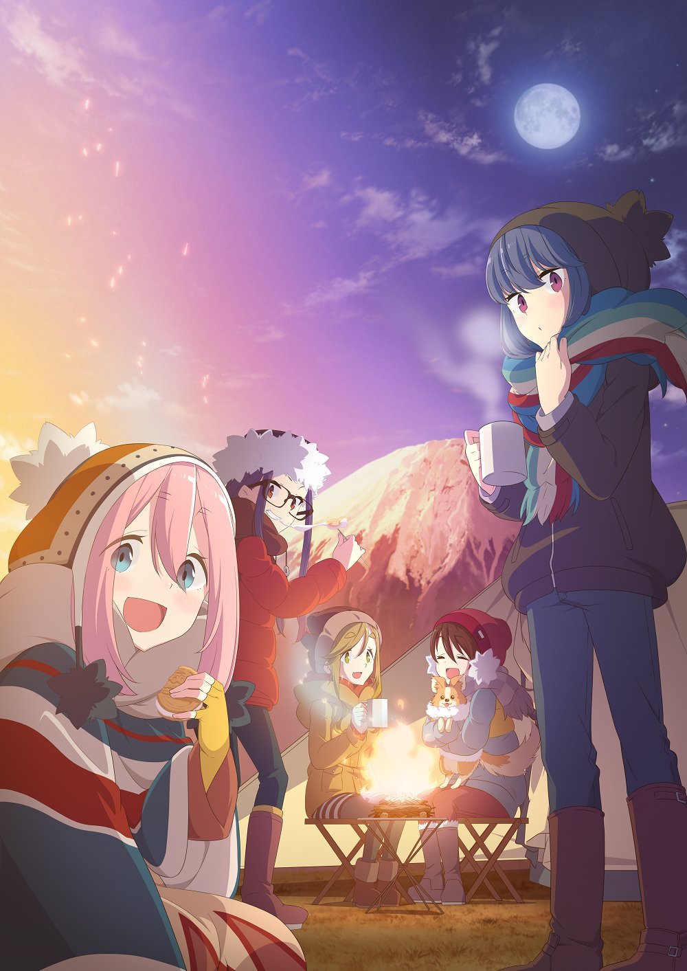 25 [Similar Anime] Like Laid-Back Camp